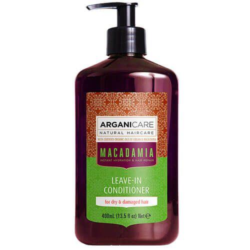 Несмываемый кондиционер для вьющихся волос с маслом Макадамии ArganiCare (АрганиКеа) 400 мл