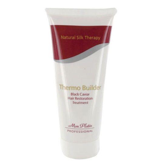 Средство для восстановительного ухода за волосами с добавкой черной икры Термо Билдер Mon Platin Professional (Мон Платин Профешнл) 100 мл