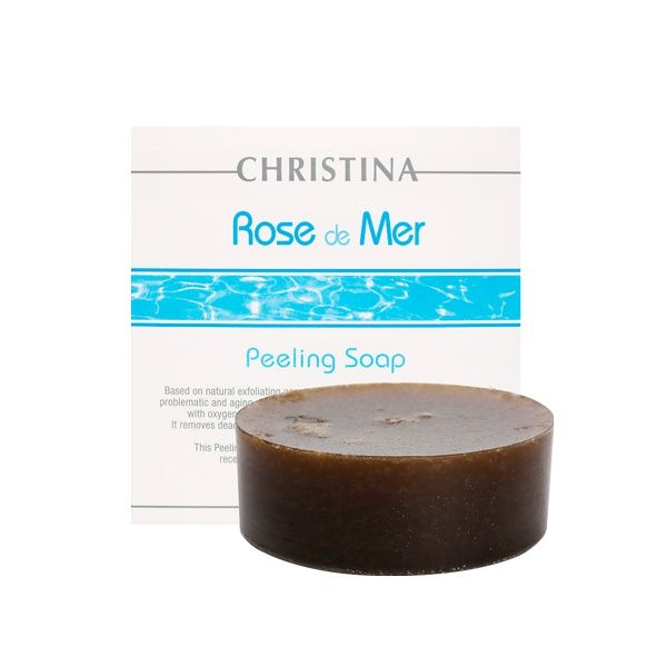 Пилинговое мыло для лица Rose de Mer Christina (Роз Де Мер Кристина) 55 мл