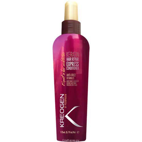 Экспресс-кондиционер Кератиновое восстановление волос Kreogen (Криоджен) 175 мл